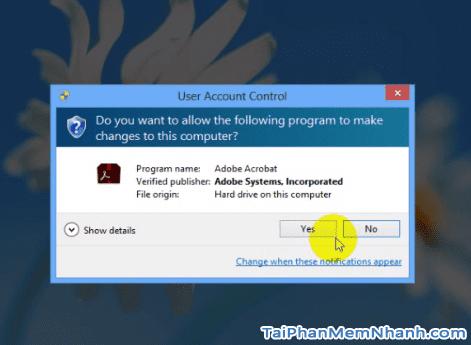 Cài đặt Adobe Acrobat Reader - Bước 2