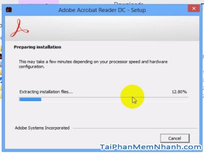 Cài đặt Adobe Acrobat Reader - Bước 3