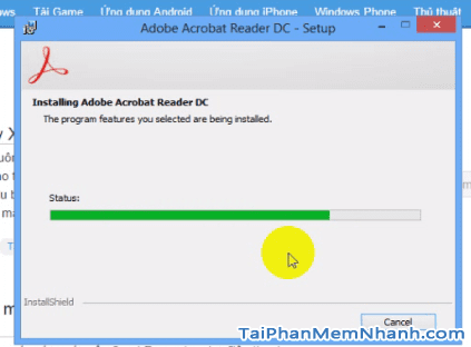 Cài đặt Adobe Acrobat Reader - Bước 5