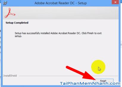 Cài đặt Adobe Acrobat Reader - Bước 6