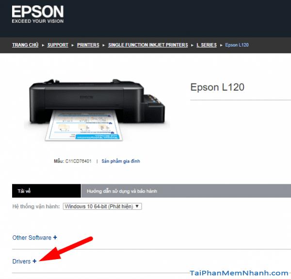 tải driver epson l120 từ server epson vietnam
