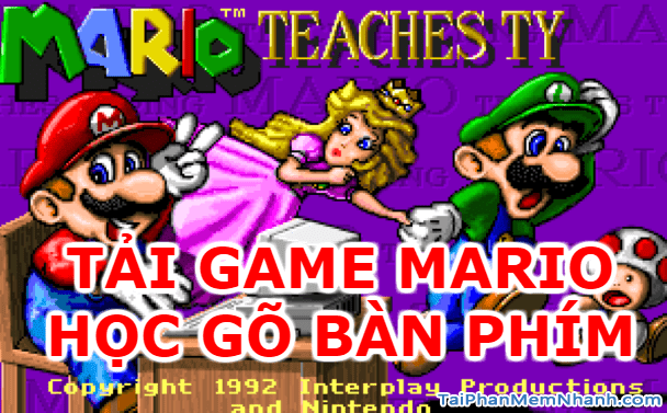 Tải Mario – Phần mềm học gõ 10 ngón trên Windows