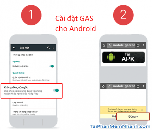 cài đặt gas garena mobile cho android - Hình 11