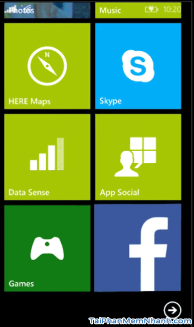 Ứng dụng facebook trên Windows Phone - Hình 3
