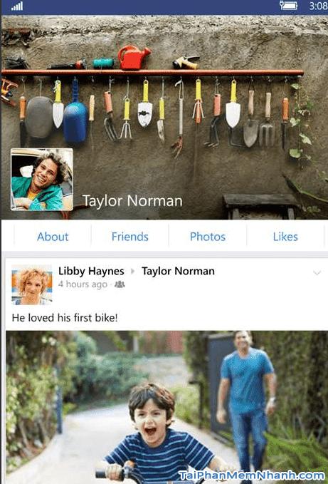 Giao diện Facebook trên Windows Phone - Hình 4