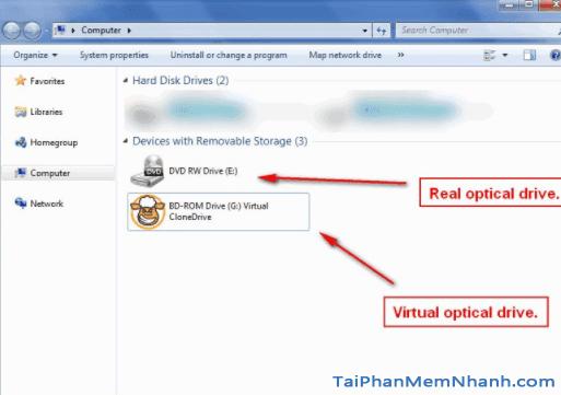 Virtual CloneDrive ở my computer - Hình 3