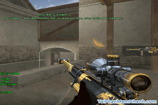cập nhật vũ khí mới trong đột kích 1258