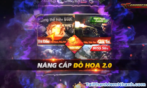 game cf mobile đồ họa 2.0