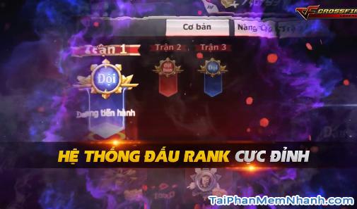 game cf mobile có hệ thống đấu rank cực đỉnh