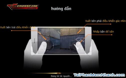 cách chơi game đột kích cf mobile trên di động