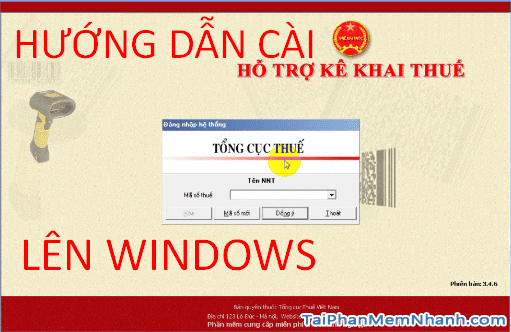 Hướng dẫn cài đặt phần mềm kê khai thuế HTKK chi tiết