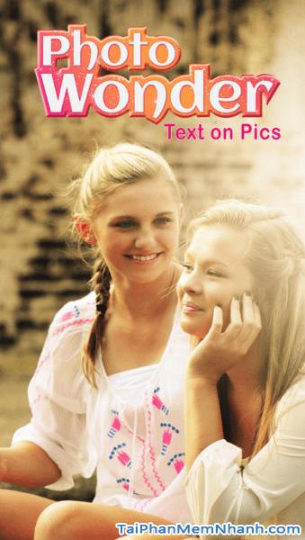 Tải PhotoWonder - Ứng dụng chụp ảnh tự sướng trên điện thoại iPhone, iPad + Hình 2