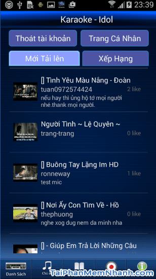 Tải Vietkaraoke Việt iDol - Ứng dụng hát Karaoke cho điện thoại Android + Hình 2