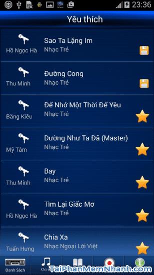 Tải Vietkaraoke Việt iDol - Ứng dụng hát Karaoke cho điện thoại Android + Hình 3