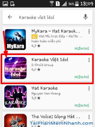 Tải Vietkaraoke Việt iDol - Ứng dụng hát Karaoke cho điện thoại Android + Hình 8