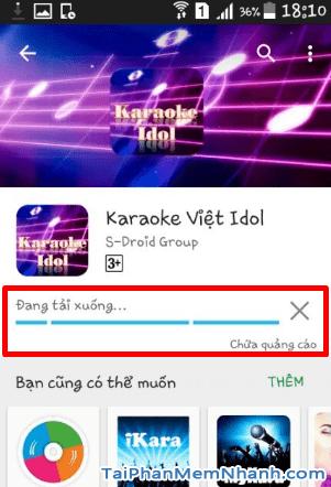 Tải Vietkaraoke Việt iDol - Ứng dụng hát Karaoke cho điện thoại Android + Hình 10