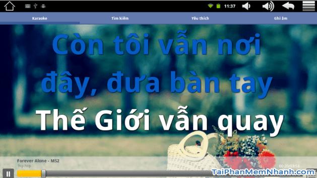 Tải Vietkaraoke Việt iDol - Ứng dụng hát Karaoke cho điện thoại Android + Hình 11