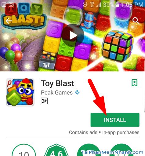 Hướng dẫn tải và cài đặt Game Toy Blast cho điện thoại Android + Hình 8