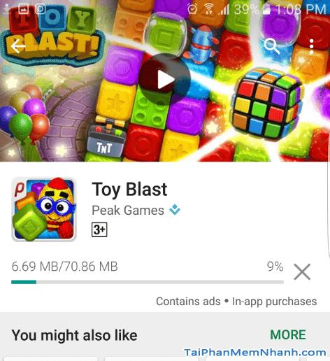 Hướng dẫn tải và cài đặt Game Toy Blast cho điện thoại Android + Hình 10