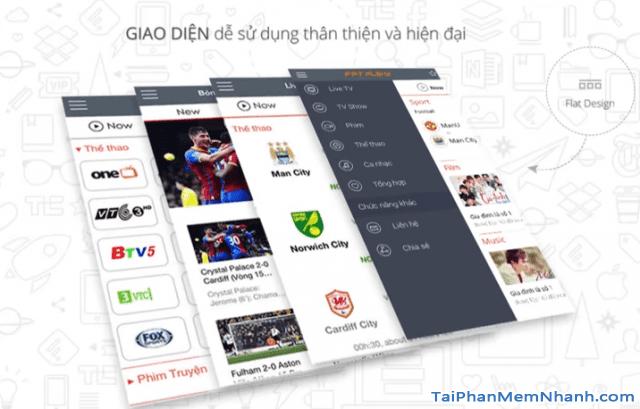 Tải và cài đặt FPT PLay - Phần mềm xem tivi trực tuyến trên Mobile + Hình 3