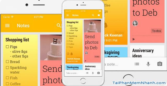 Hướng dẫn tải cài đặt phần mềm ghi chú Google Keep cho iOS + Hình 4