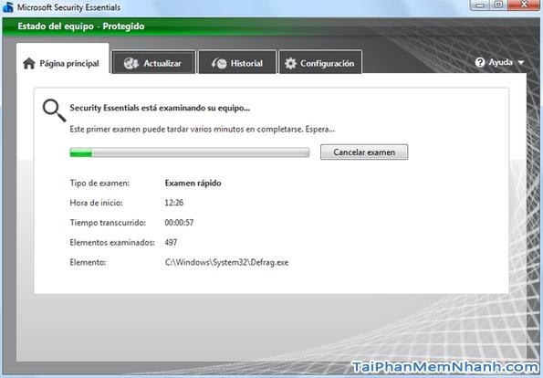 Tải Microsoft Security Essentials - Ứng dụng hỗ trợ diệt Virus cho Windows + Hình 3