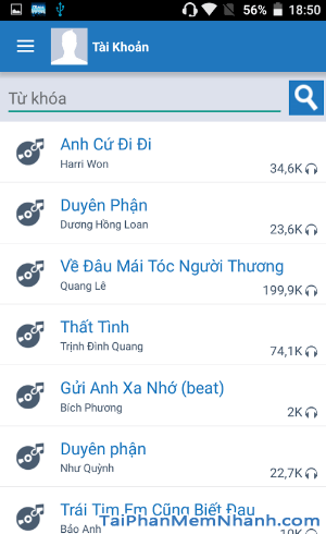 Tải và cài đặt iKARA - Ứng dụng hát Karaoke trên điện thoại Android + Hình 2