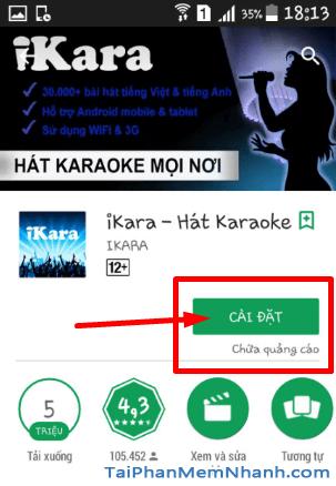 Tải và cài đặt iKARA - Ứng dụng hát Karaoke trên điện thoại Android + Hình 10