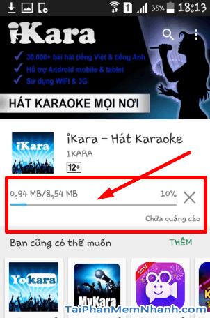 Tải và cài đặt iKARA - Ứng dụng hát Karaoke trên điện thoại Android + Hình 12