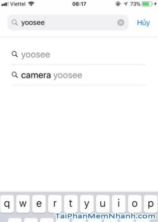 Cách cài đặt YooSee cho iPhone - Hình 5 gõ từ khóa YooSee