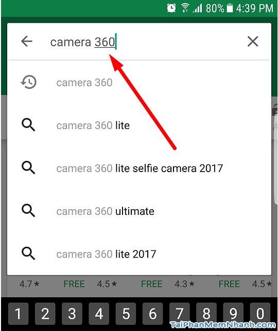 tìm với từ khóa camera360