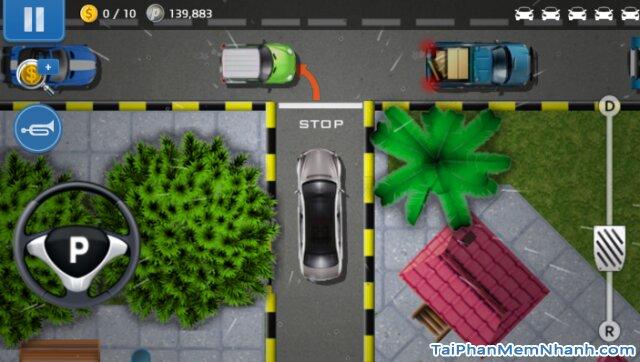 giao diện game lái xe hơi
