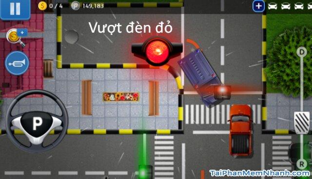 dừng đèn xanh đèn đỏ trong game lái xe