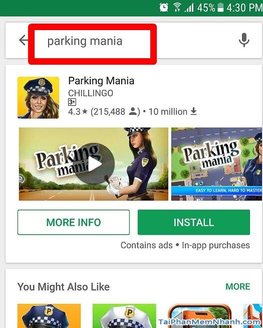 tìm với từ khóa parking mania