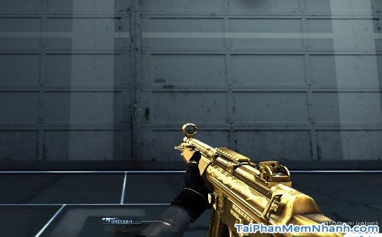 cập nhật súng mới mp5 trong game đột kích