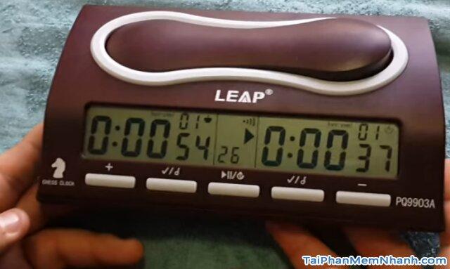 hoạt động của đồng hồ chơi cờ tướng, cờ vua leap