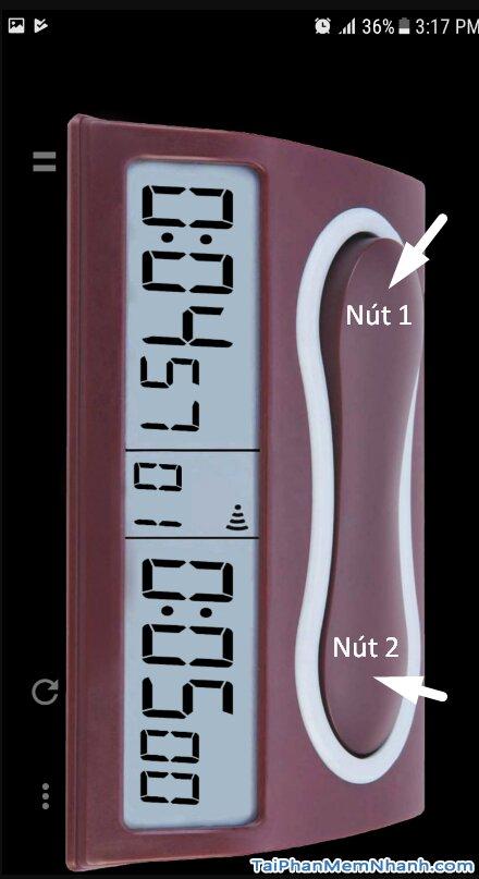 2 nút bấm của đồng hồ cờ tướng