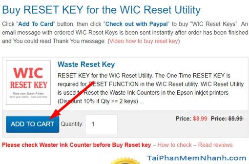 giao diện trang bán wic reset key