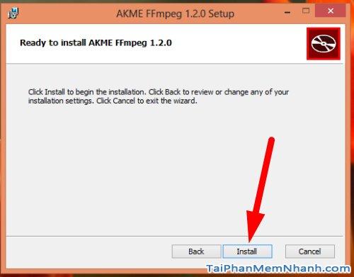 cài đặt FFMPEG - bước 5