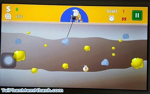 chơi game đào vàng