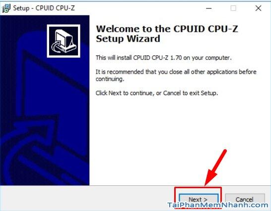 Hướng dẫn kiểm tra cấu hình máy tính, PC & Laptop với phần mềm CPU-Z + Hình 4