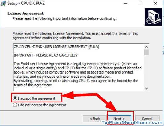 Hướng dẫn kiểm tra cấu hình máy tính, PC & Laptop với phần mềm CPU-Z + Hình 5