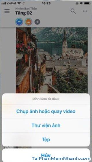 Yahoo tái xuất thị trường - Tải Ứng dụng nhắn tin Yahoo Together cho Android + Hình 14
