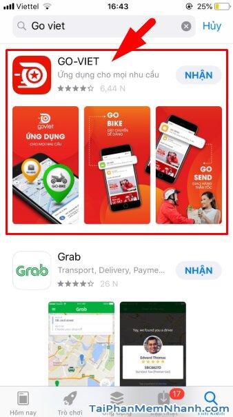 Hướng dẫn tải và cài đặt Go-Viet - ứng dụng gọi xe trên điện thoại iPhone, iPad + Hình 12