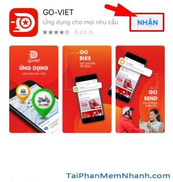 Hướng dẫn tải và cài đặt Go-Viet - ứng dụng gọi xe trên điện thoại iPhone, iPad + Hình 13