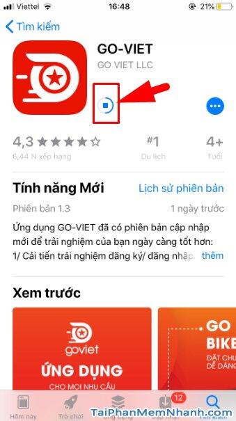 Hướng dẫn tải và cài đặt Go-Viet - ứng dụng gọi xe trên điện thoại iPhone, iPad + Hình 15