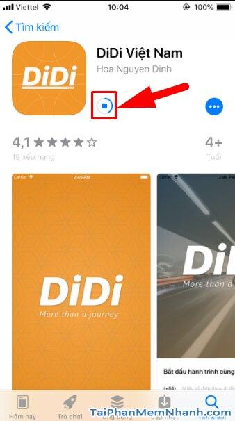 Hướng dẫn tải cài đặt Ứng dụng gọi xe trên di động - DIDI cho iPhone, iPad + Hình 12