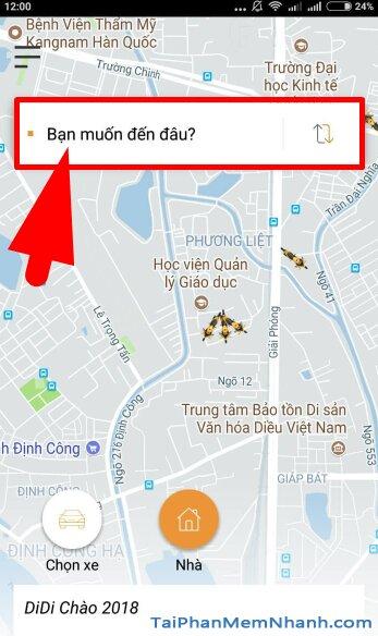 Hướng dẫn tải cài đặt Ứng dụng gọi xe trên di động - DIDI cho iPhone, iPad + Hình 15