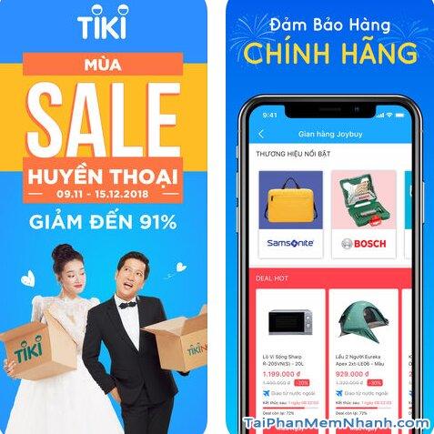 Hướng dẫn tải và cài đặt TiKi - Ứng dụng mua sắm trên iPhone, iPad + Hình 3
