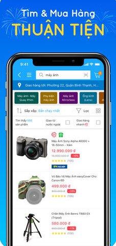 Hướng dẫn tải và cài đặt TiKi - Ứng dụng mua sắm trên iPhone, iPad + Hình 4